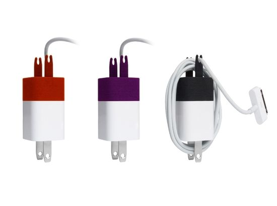 iPhone Charger Cable Winder by Michiel Cornelissen. Wrangle those iCords!