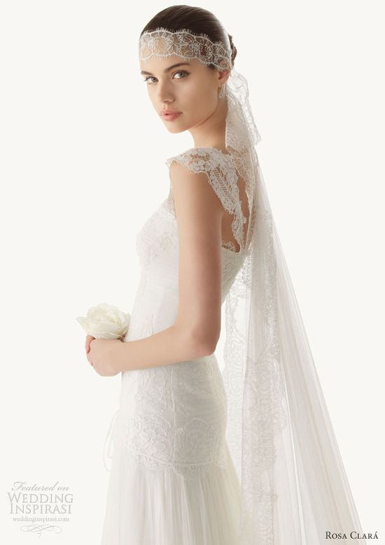 Rosa clara wedding dresses 2013 betse lace gown straps