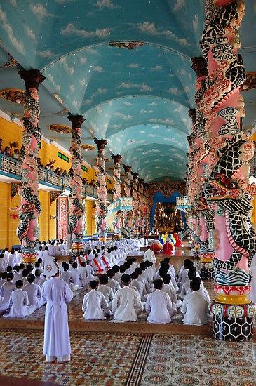 Cao Dai Temple, Midday Service ,Vietnam