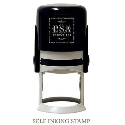 PSA Essentials Personalized Self Inking Stamp or Embosser Wallace