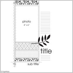 sketch #scrapbooking #layout #sketch