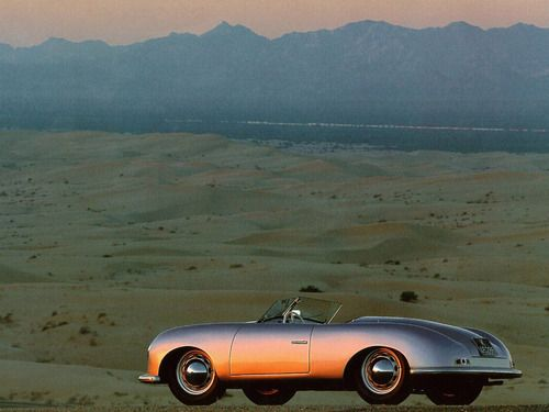 Porsche 356 Roadster   yes, I love old sport cars