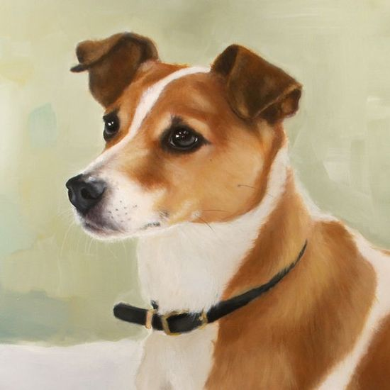Custom Painted Oil Portrait of Your Dog From Your by hartart13, $350.00