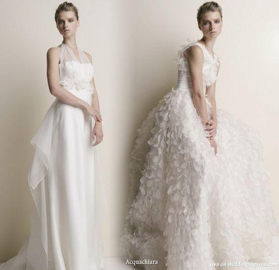 Acquachiara 2010 Bridal Gown Collection