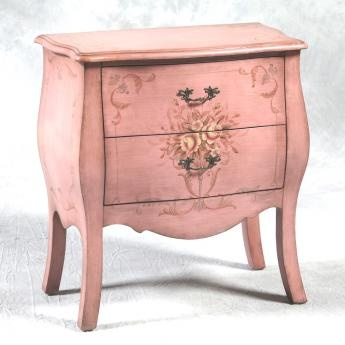 Pink distressed furniture