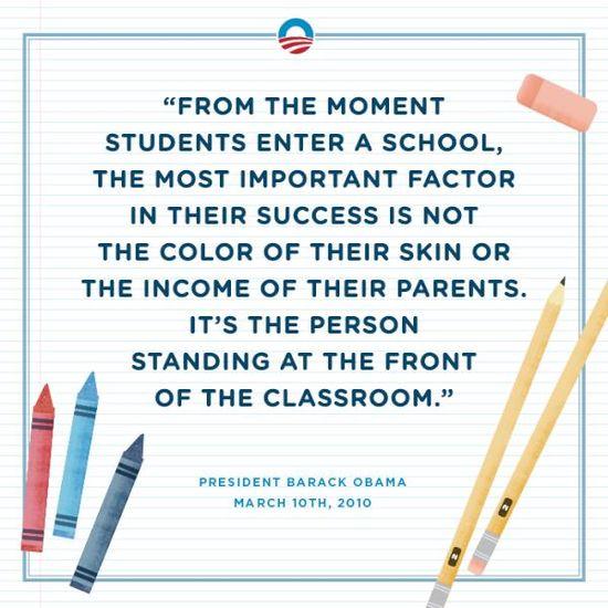 The importance of a teacher