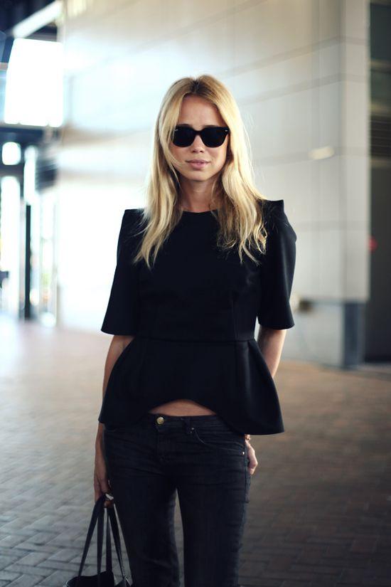 All black-so chic