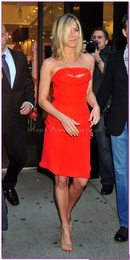 Sheath Natural Waist Ruching Sleeveless Knee Length Strapless Celebrity Dress
