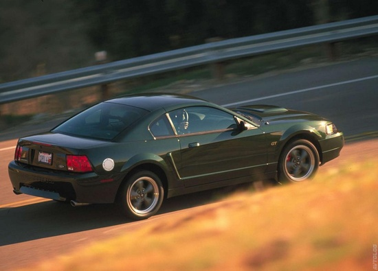 2001 Ford Mustang Bullitt GT - my hubbies car, still in mint condition!