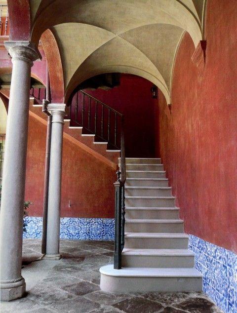Studio Peregalli, Andalusia - Stairway in a Loggia