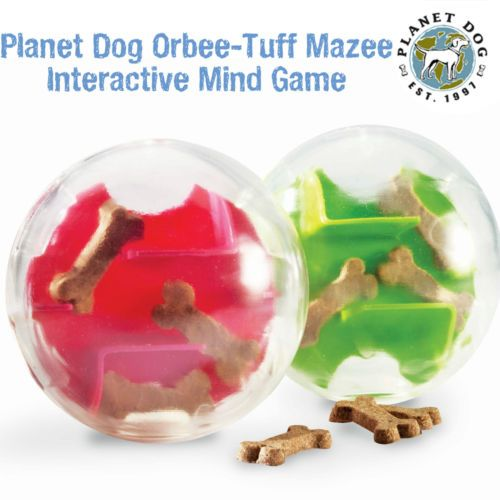 Planet DOG Orbee Tuff Mazee Interactive Mind Game TOY Great Food Maze DOG TOY