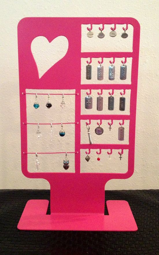 Love Letter Jewelry Display by LocketDisplay on Etsy, $32.00