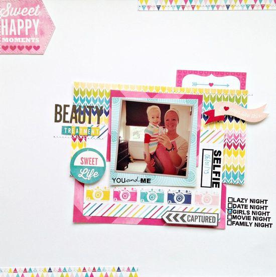 Beauty treatment - Scrapbook.com