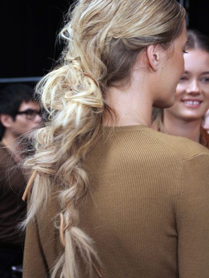 The ultimate messy braid.