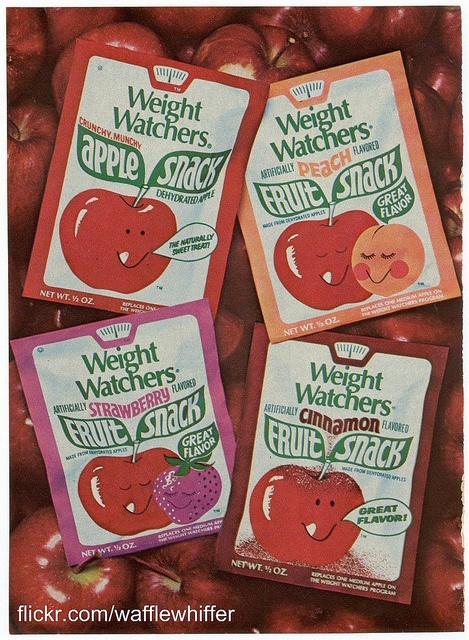 Weight Watchers Fruit Snacks.  1970s.