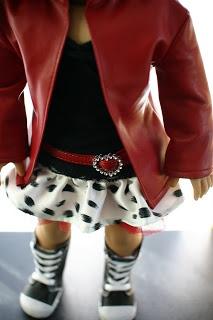 18 inch Doll Clothes Pattern: Harajuku Skirt