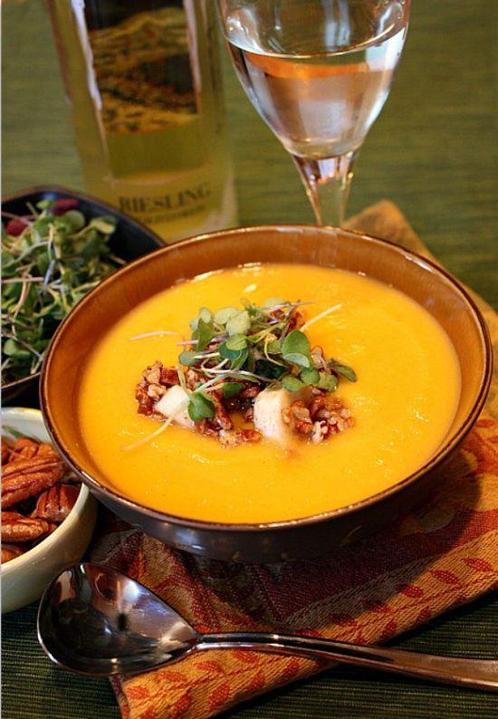 Roasted Squash Soup #fall #recipe