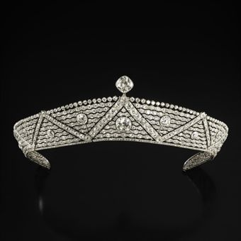 Art deco tiara