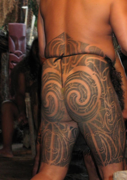 ? Traditional Maori Tattoo Patterns are an effort to reflect the natural world. ?