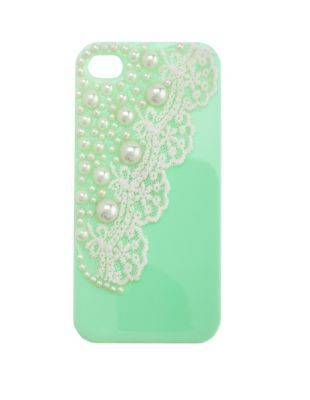 pearls & lace phone case - 5