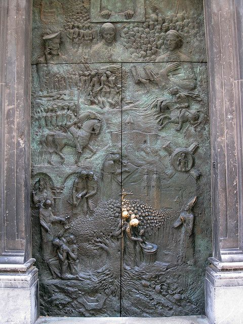 Wow! I just love the doors on some churches.