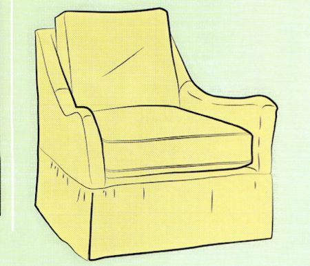 How to Sew a Slipcover for a Chair