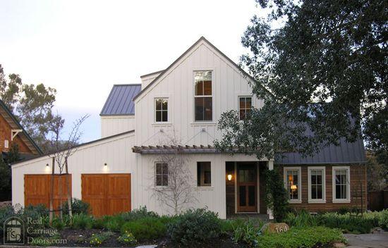 clean, contemporary farmhouse