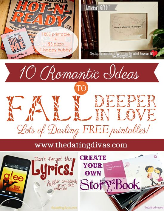 10 super cute ideas that will for sure put the romance back into your relationship! www.TheDatingDiva... #dateyourspouse #falldates #romanticideas