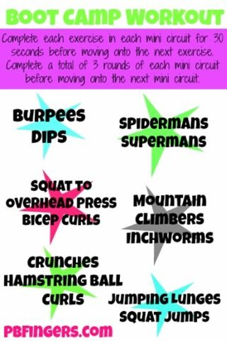 Boot Camp Workout!