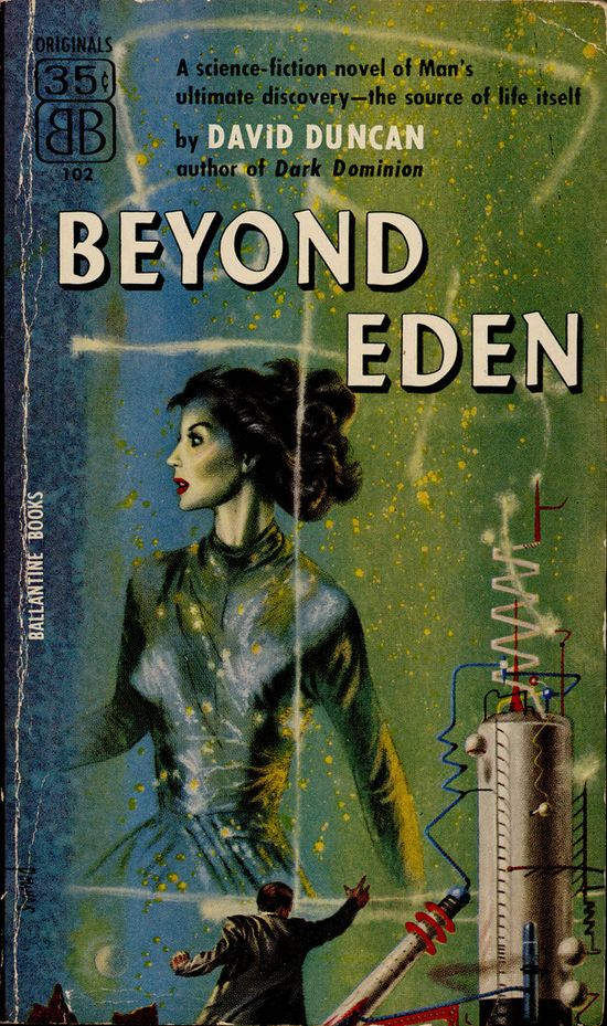 Beyond Eden, book cover