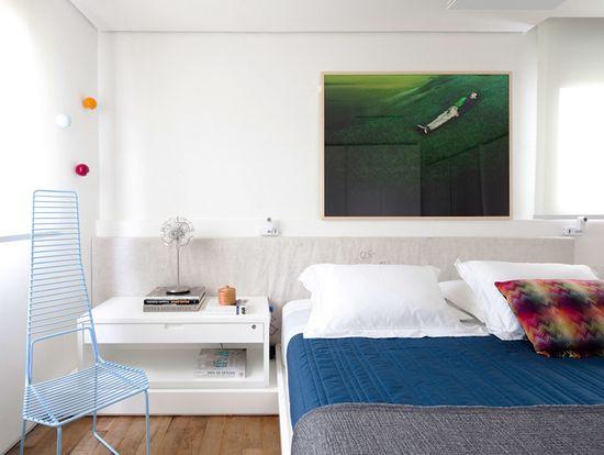 cozy white bedroom #decor