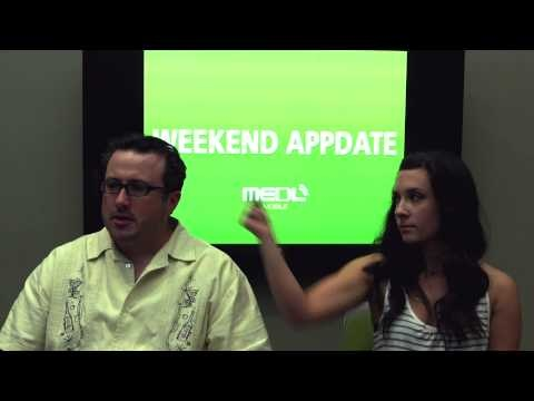 "In this week's 6th episode of the WEEKEND APPDATE, Chris Scuro and Jenna Grandolfo discuss the ""Hotel Tonight"" app, Blackberries as the redheaded step children?, the new dangerous Pocket Plane app addiction, The Act app, Sweeden's Twitter and their genius idea, WeKnowWhatYoureDo..., a special shout out to the blog MyBloodyPeriod.com for discussing our Code Red app (see photo below)! And believe me, you do not want to miss Chris and Jenna swashin n' bangin' it...SMANG it giiiirl."
