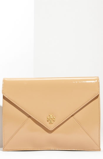 Tory Burch envelope clutch that goes with absolutely everything.