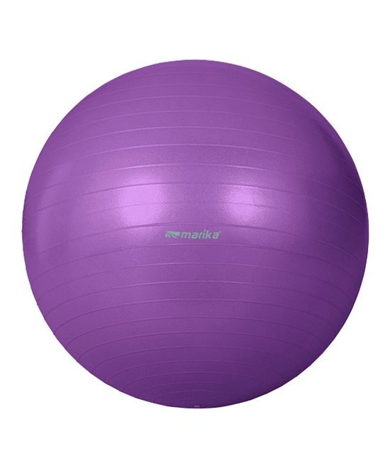 Purple Exercise Ball