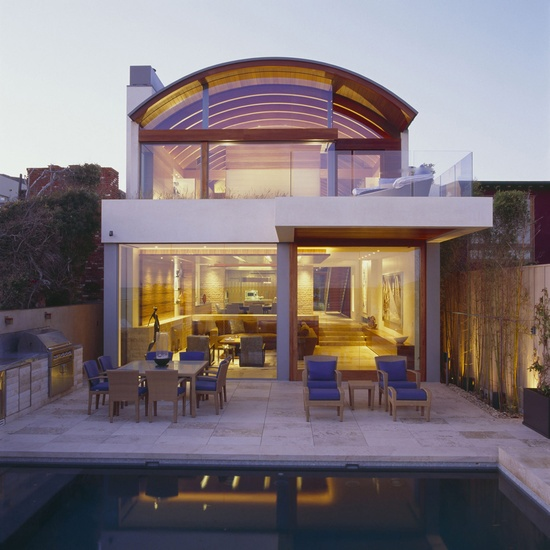 Beach House, Malibu, Safdie Rabines Architects