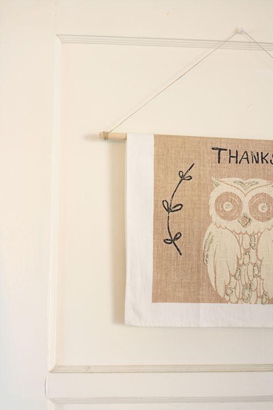 """Thanks"" Banner"
