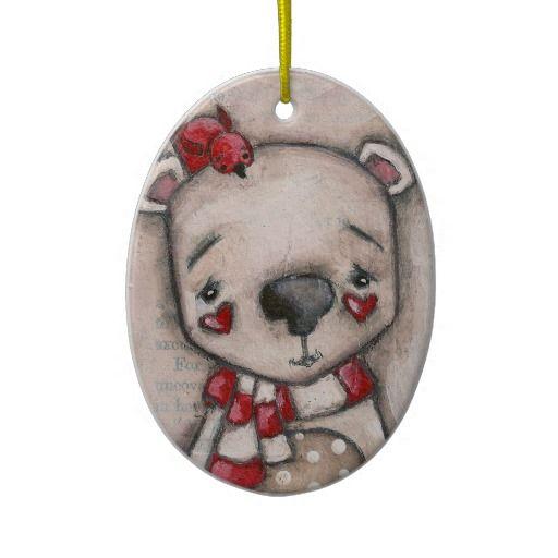Polar Bear and Friend - Ornament