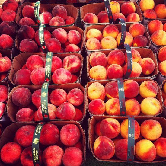 Niagara's bounty - fresh fruit stand! @Patricia Nickens Derryberry Niagara