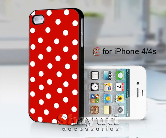 #red #polkadot #case #samsung #iphone #cover #accessories