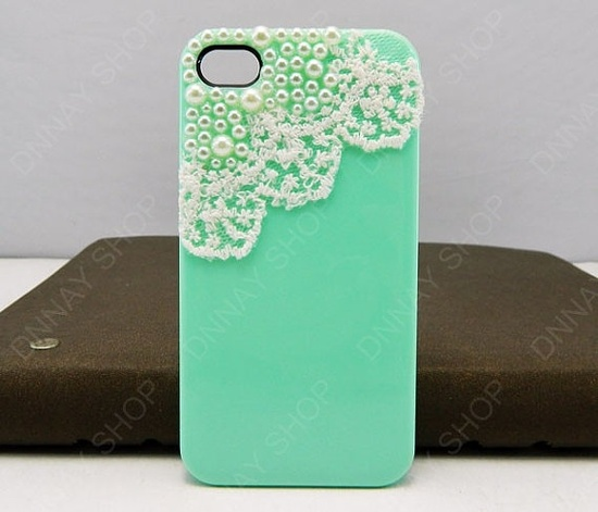 iphone 5 case  Lace case   iphone 4 case iphone 4s case 3D iphone 5 cases by dnnayding