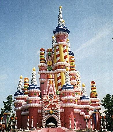 Candy Castle.