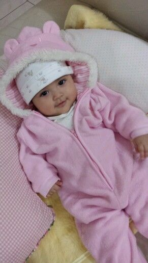Cute pink baby cloth...:)