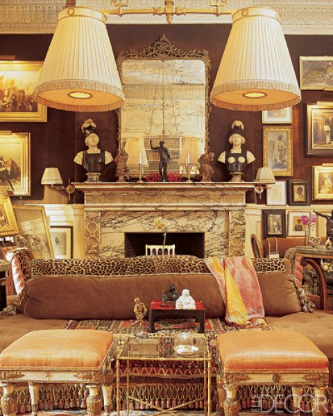 Kenneth Jay Lane's apartment