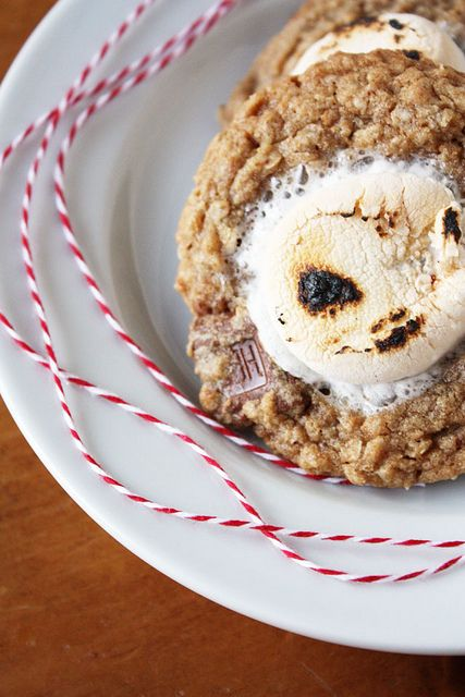campfire s'mores cookies by lulu the baker
