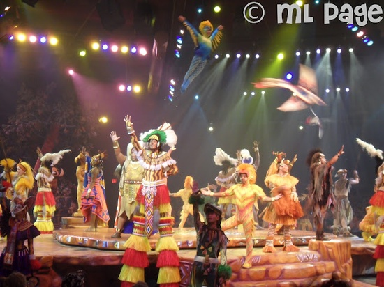 Festival of the Lion King at Animal Kingdom, Walt Disney World, Florida!