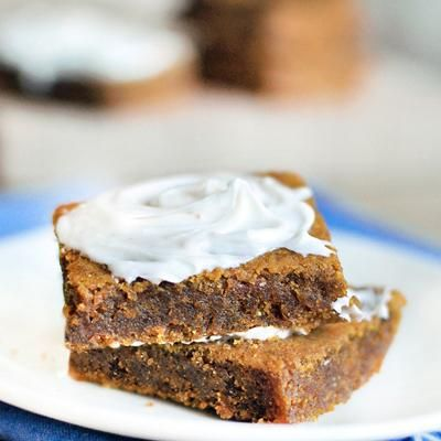 Look at this .....pumpkin bars - Only 50 cal each!