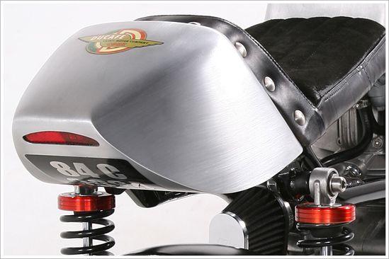 Ducati Pantah 'Ducafé' - MedazaCycles