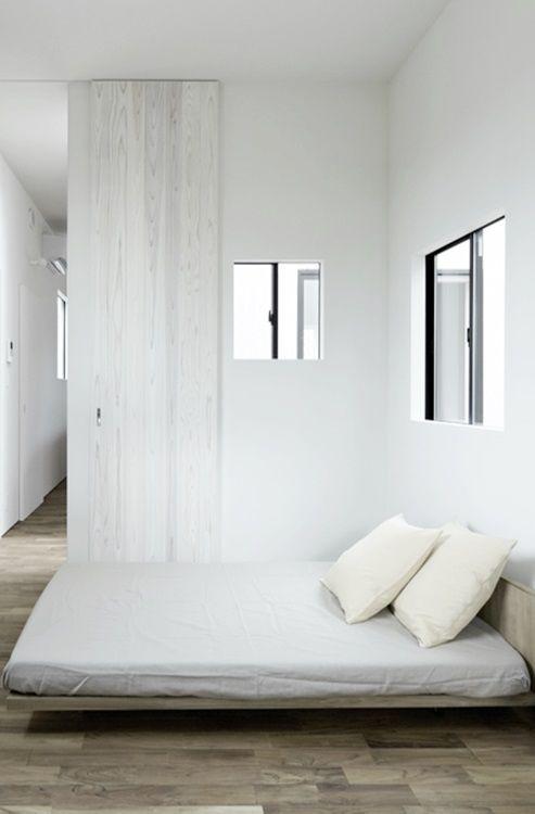 #interior design #minimalism #white interiors #style #inspiration #bedroom