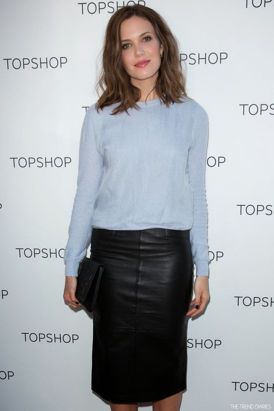 Mandy Moore at the Topshop Holiday Event at The Grove in Los Angeles, California - November 2, 2013