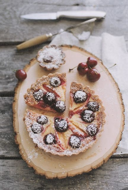stone fruit tart (apricots, plums, cherries..)